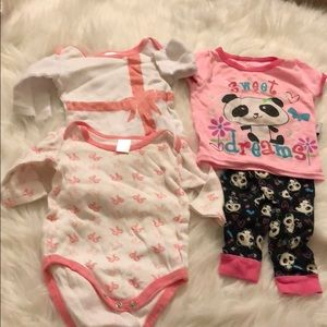Matching Sets - 6-9 months baby girl sets